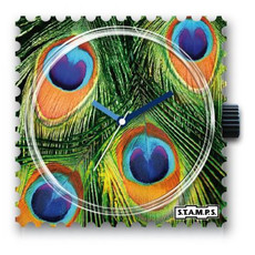 Montre Stamps MONTRE STAMPS Eye of the peacock