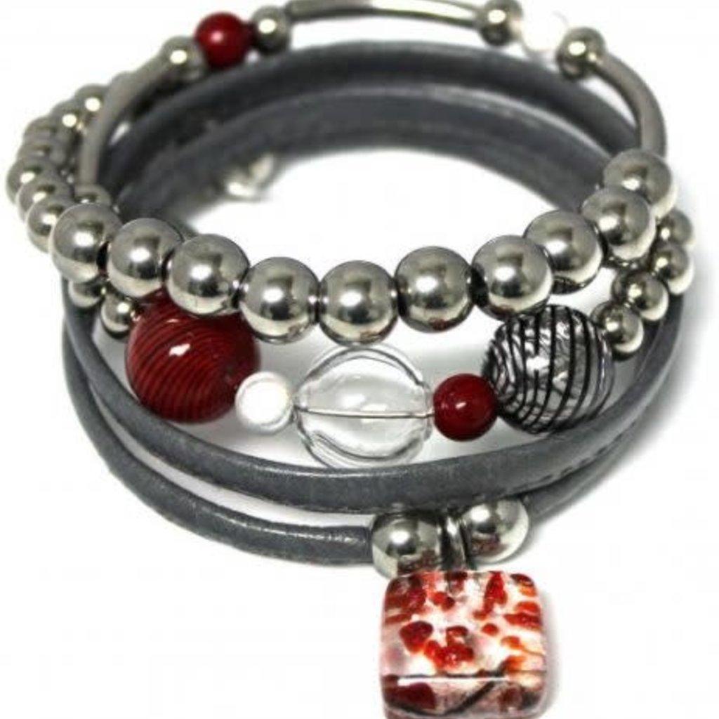 Cré-Art Bracelet de Cré-Art fashion 300B gris