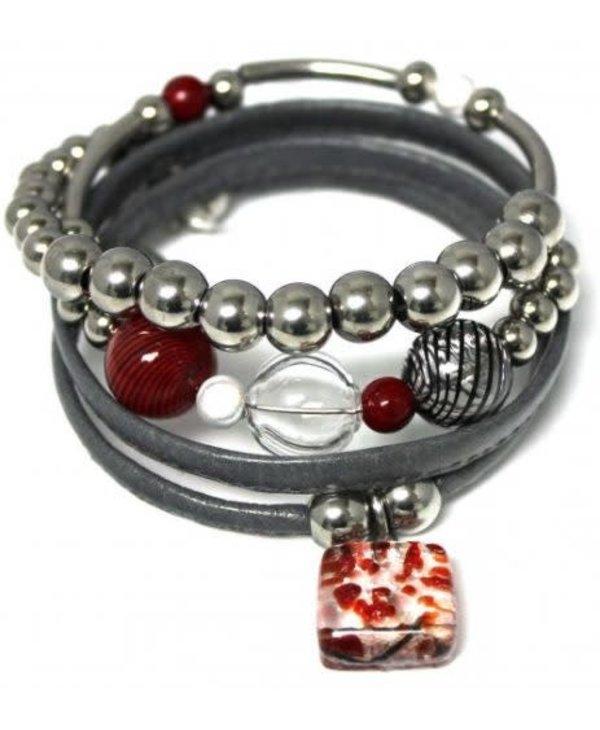 Bracelet de Cré-Art fashion 300B gris