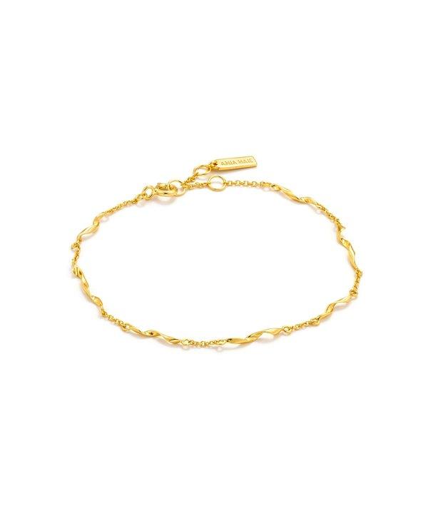 Bracelet Ania Haie Helix Gold