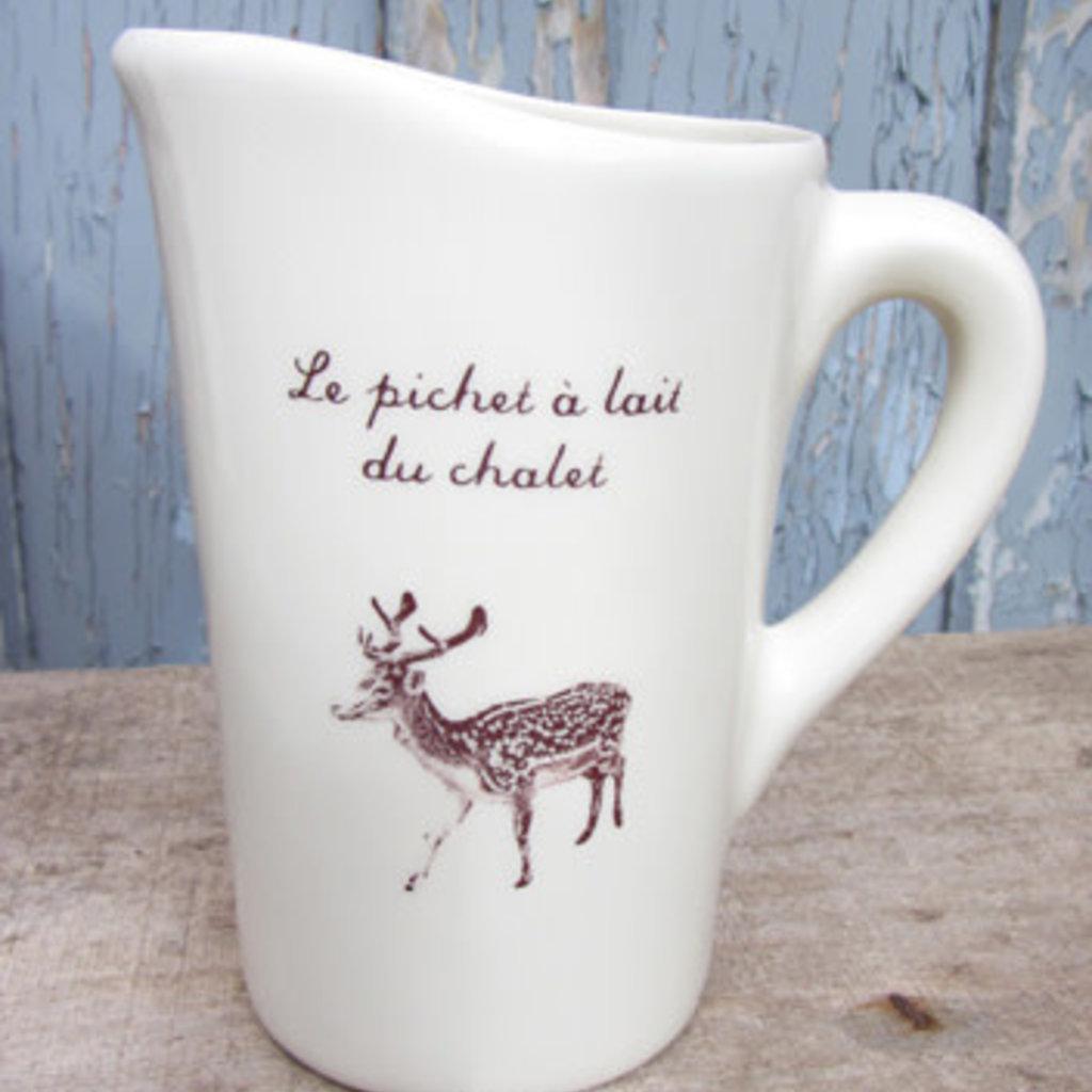 Weilbrenner & Lebeau Le pichet à lait du chalet de Weilbrenner & Lebeau