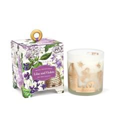 Michel Design Works Chandelle Michel Design Works Lilac & Violets
