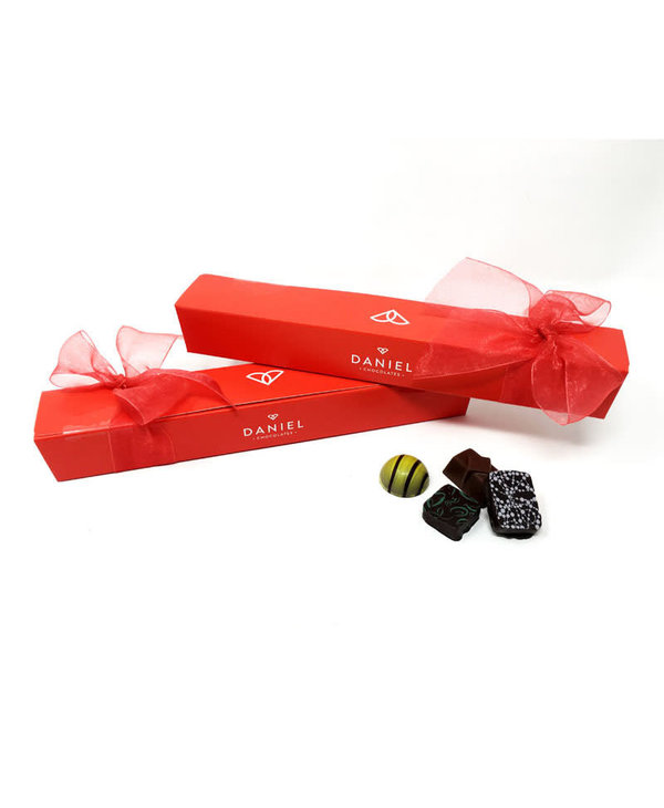 Assortiment de 9 mcx de Chocolat Belge Daniel (110gr)