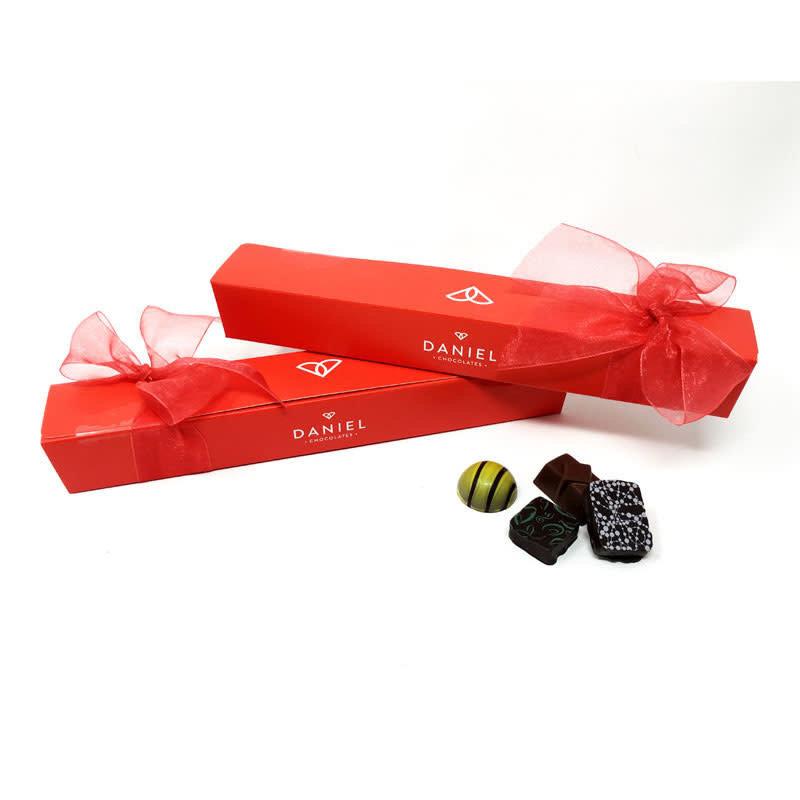 Daniel Chocolates Assortiment de 9 mcx de Chocolat Belge Daniel (110gr)