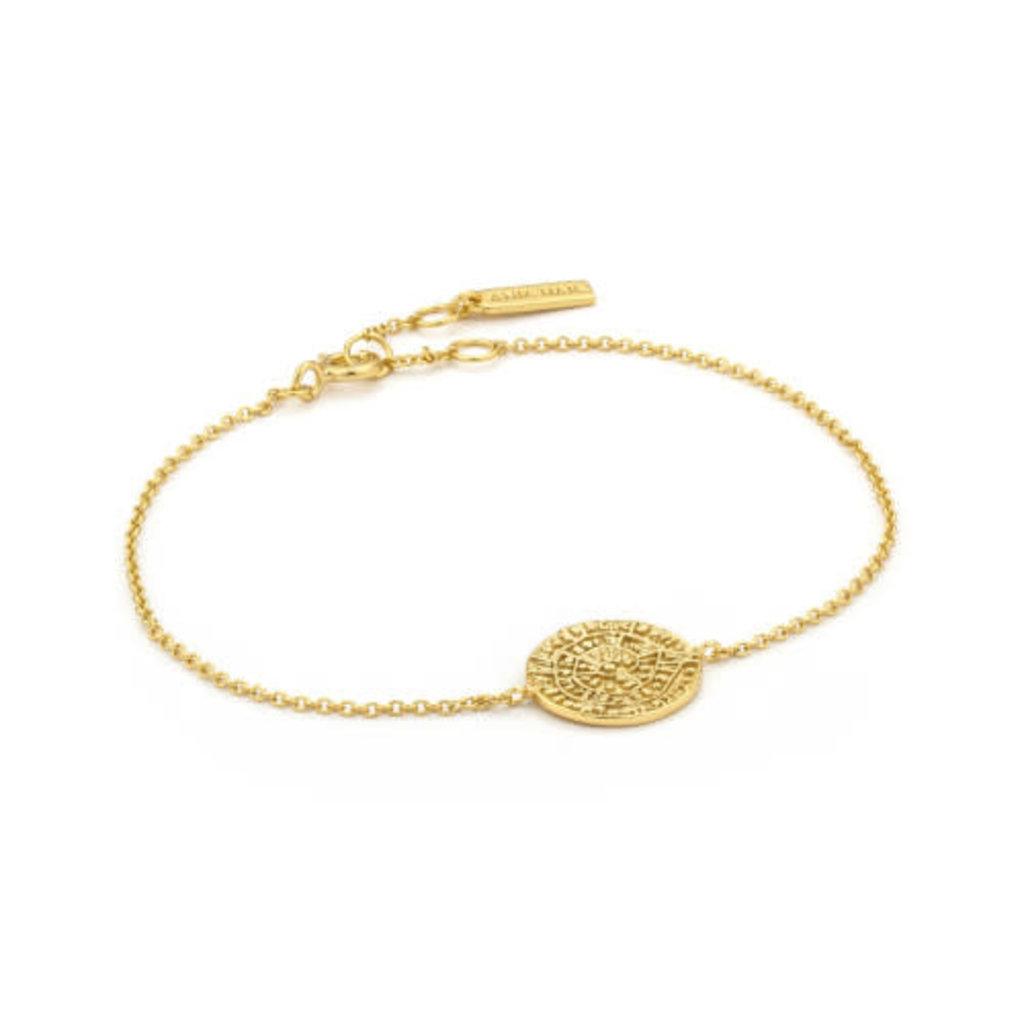 Ania Haie Bracelet Ania Haie Emblem Beaded gold