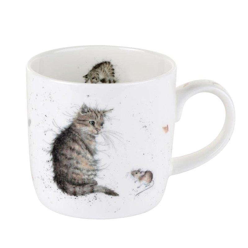 Wrendale Tasse Wrendale by royal worcester cat and mouse