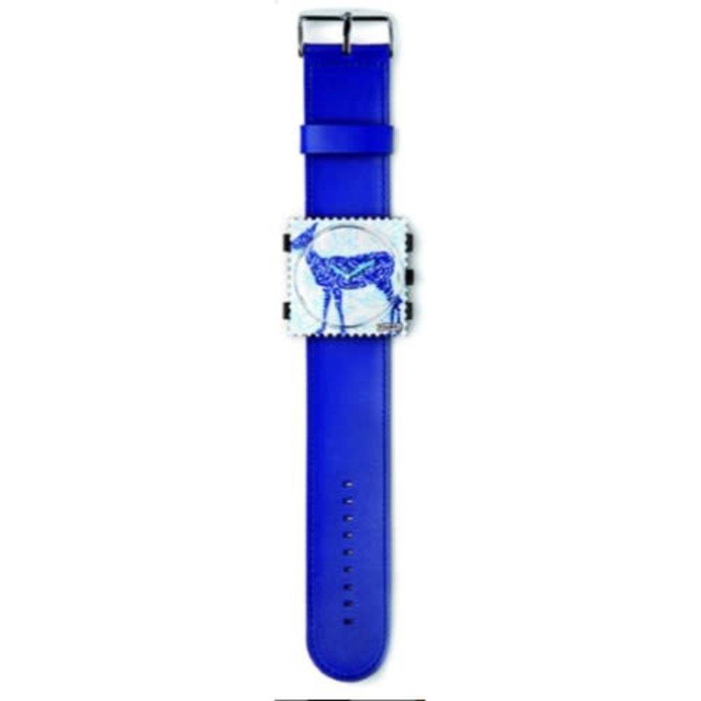 Montre Stamps Bracelet montre Stamps classique Blue