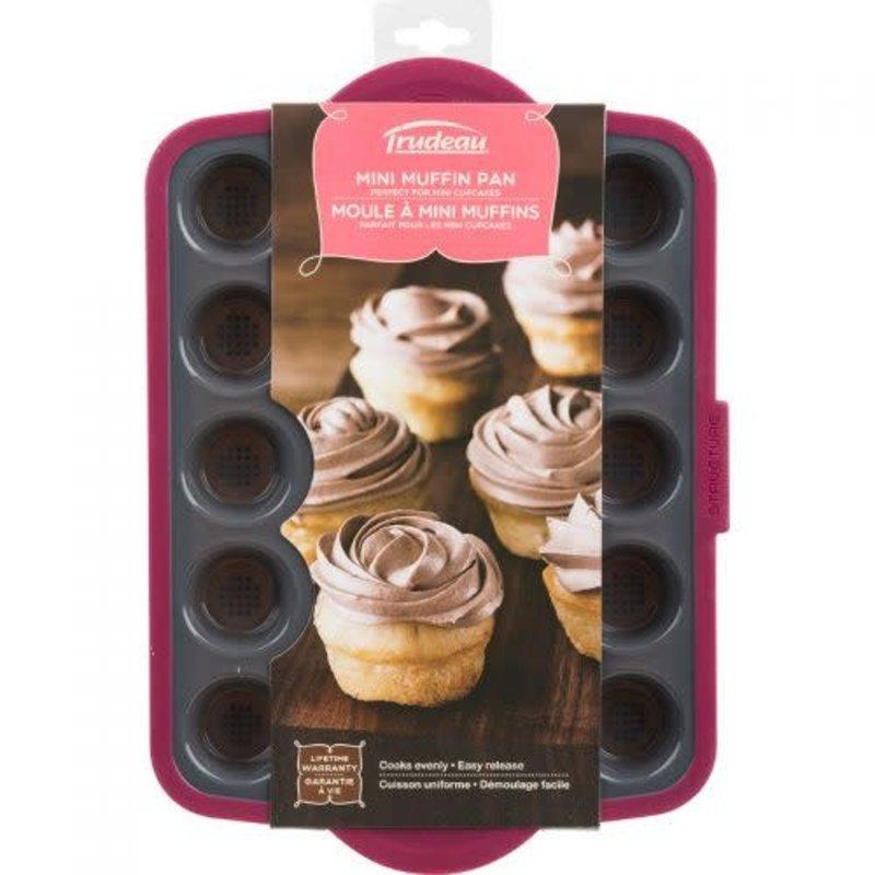 Trudeau Moule à mini muffins en silicone de Trudeau