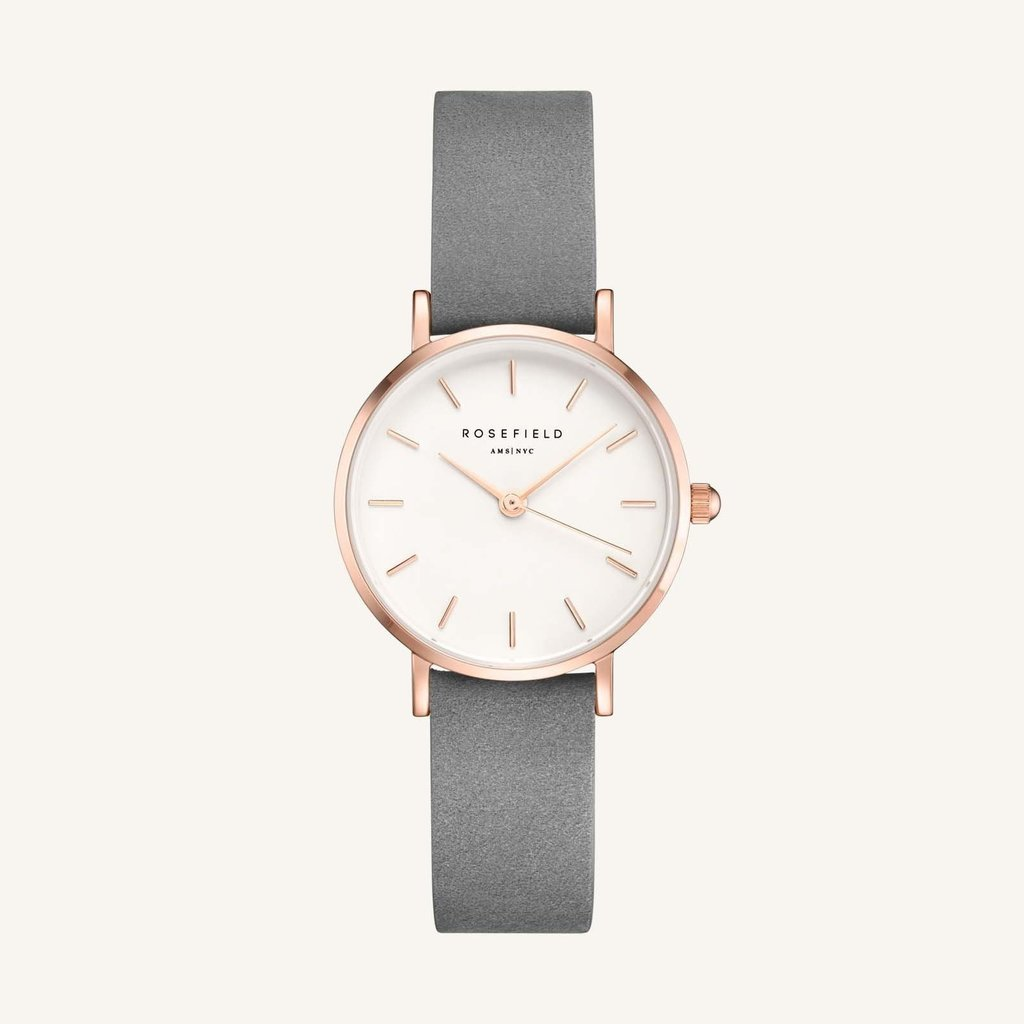 Rosefield Montre Rosefield 264 The Small Edit White Grey Rose gold
