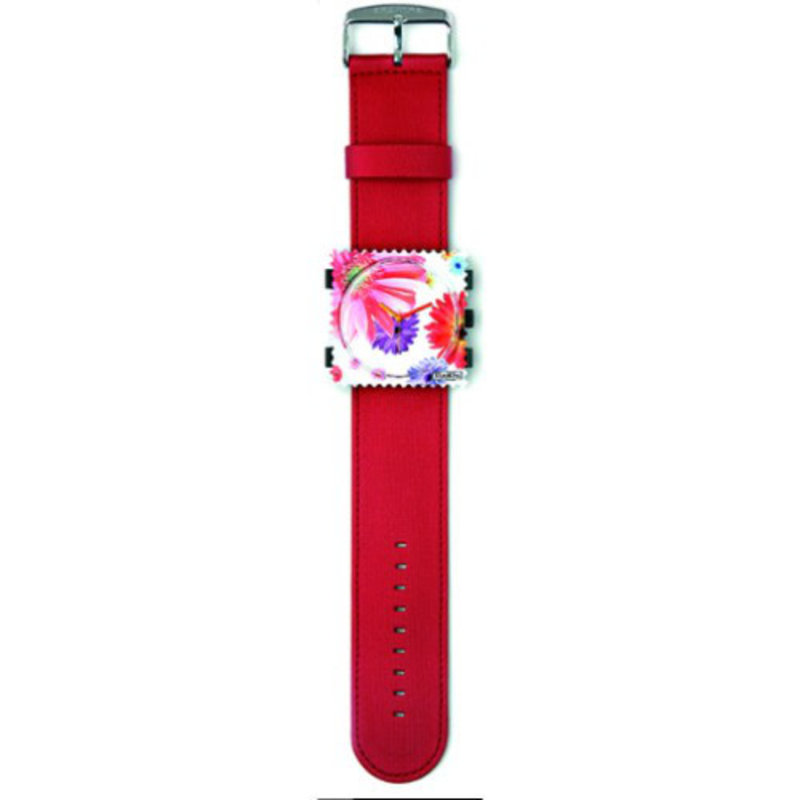 Montre Stamps BRACELET STAMPS SATIN ROUGE