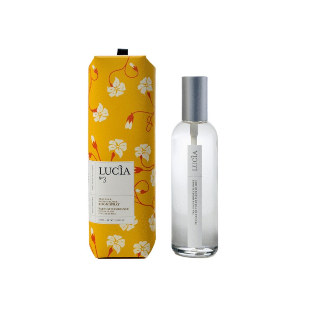 Lucia N°3 Parfum d'ambiance à la feuille thé et miel sauvage Lucia