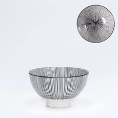 Torre & Tagus Bol de porcelaine Kiri 4.5 Black Line