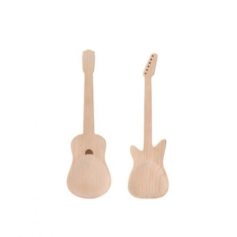 Kikkerland Cuillères à salade guitare de Kikkerland