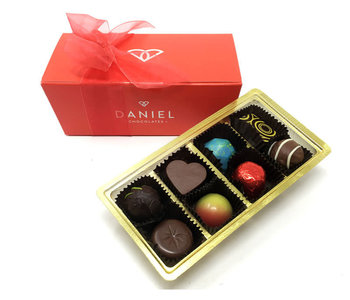 Boite de Chocolat Belge Daniel 16 mcx