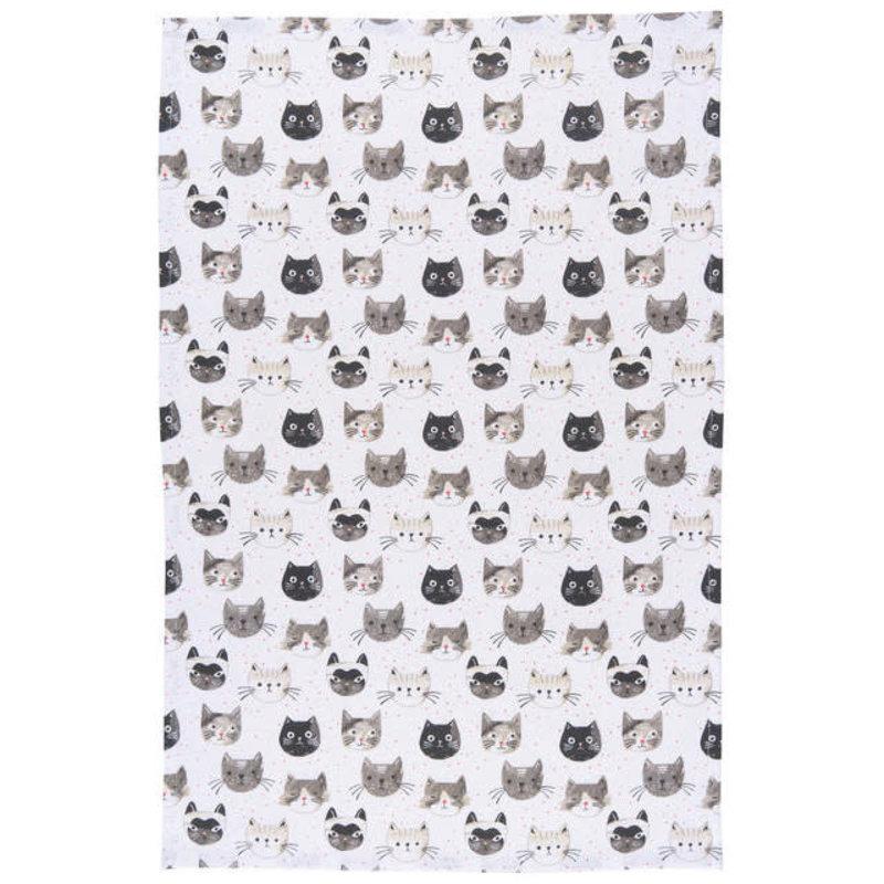 Danica Studio Torchon de chats Meow
