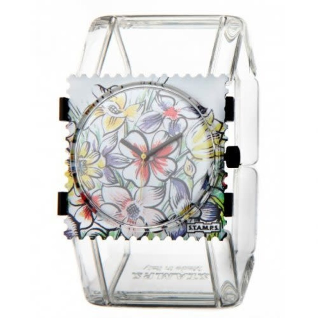 Montre Stamps Bracelet de montre Stamps Belta transparent
