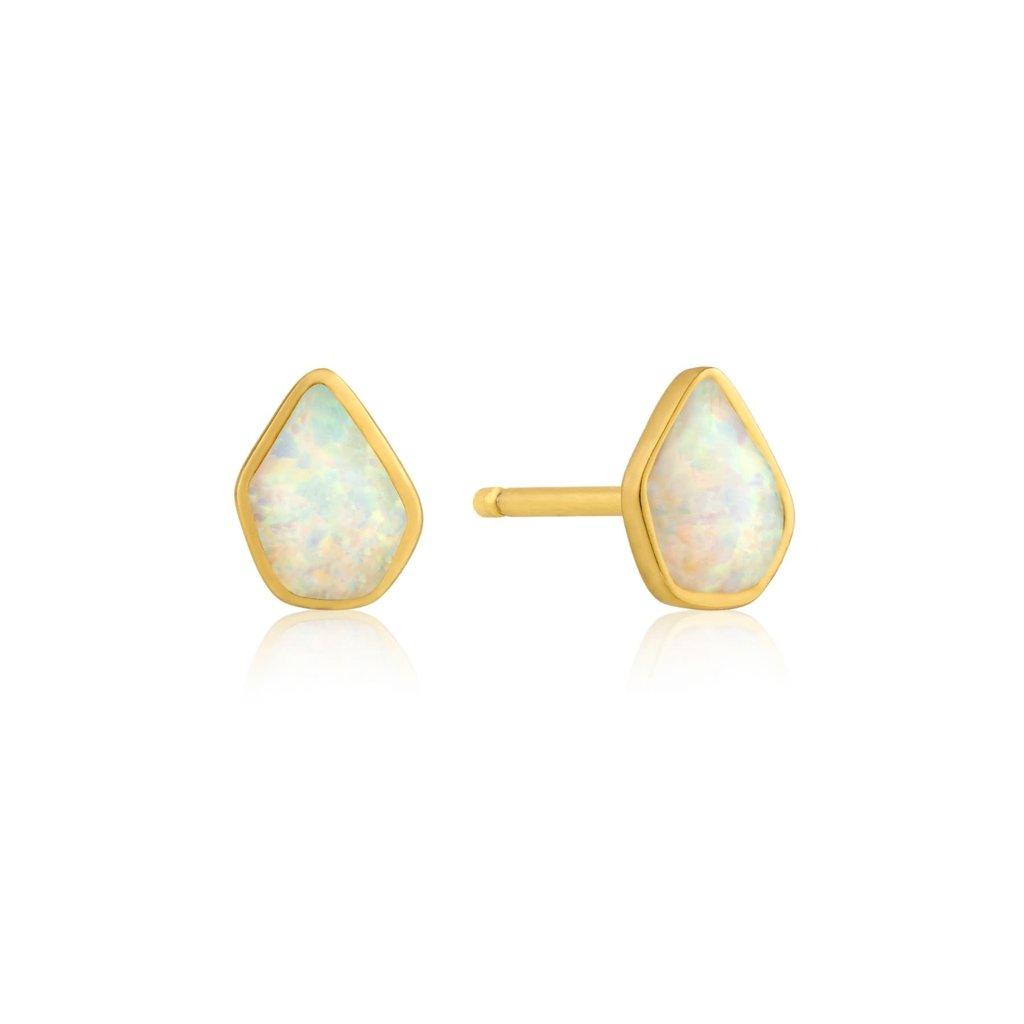 Ania Haie Boucles d'oreilles Ania Haie Opal Colour Gold Stud