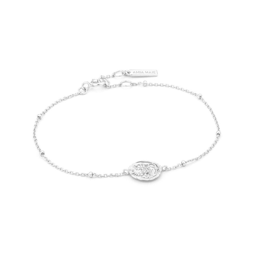 Ania Haie Bracelet Ania Haie Emblem Beaded silver