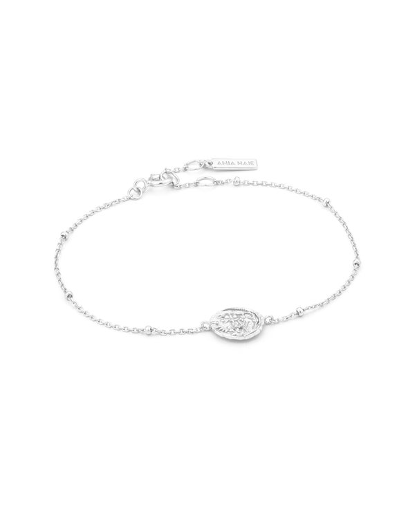 Bracelet Ania Haie Emblem Beaded silver
