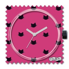 Montre Stamps Montre STAMPS Pink Cat