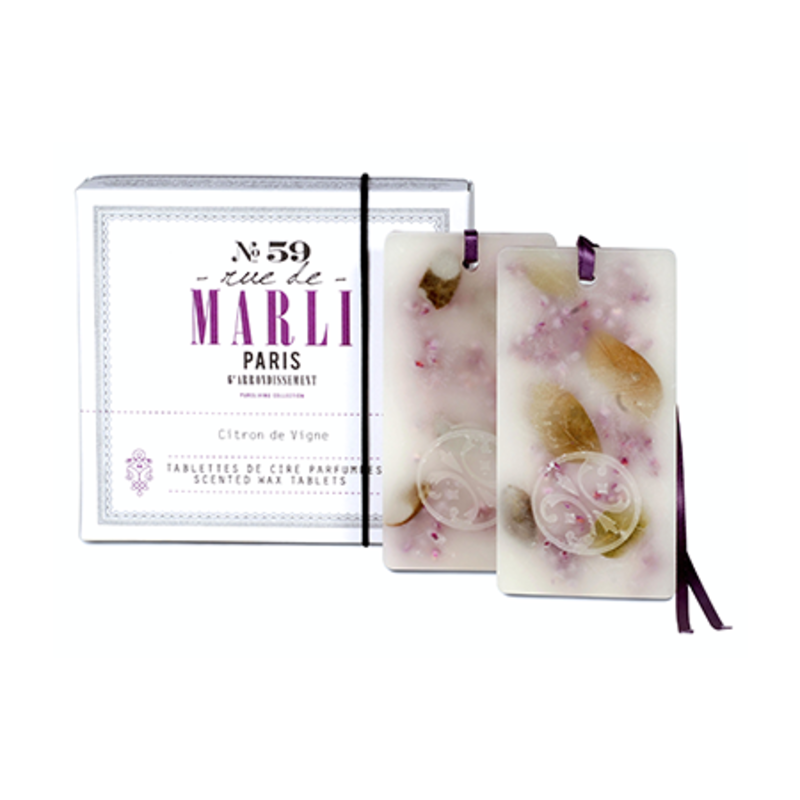 Rue de Marli Tablettes de cire parfumées (2) Rue de Marli No59
