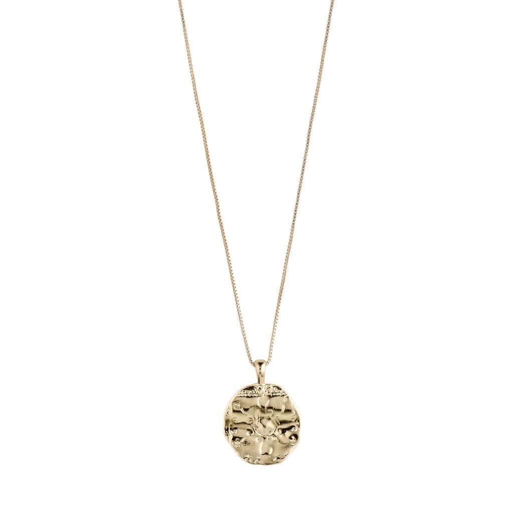 Pilgrim Collier de médaillon Pilgrim Affection Or