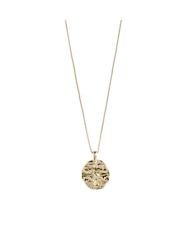 Collier de médaillon Pilgrim Affection Or