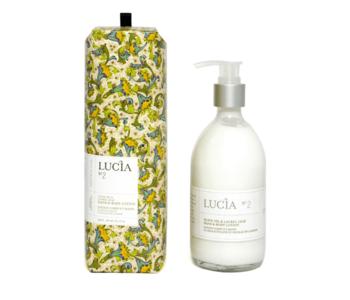 N°2 Lotion corps et mains à l'huile d'olive et feuille de laurier Lucia