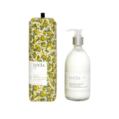 Lucia N°2 Lotion corps et mains à l'huile d'olive et feuille de laurier Lucia