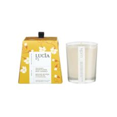 Lucia N°3 Bougie de soja Feuille de thé et miel sauvage 20h Lucia
