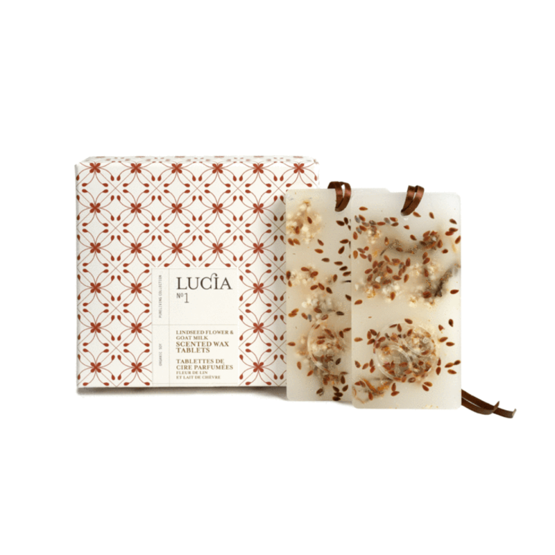 Lucia N°1 Tablettes parfumées Lait de chèvre et huile de lin Lucia