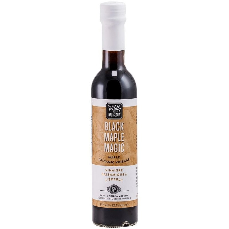 Wildly Delicious Vinaigre balsamique Black Maple Magic Wildly Delicious