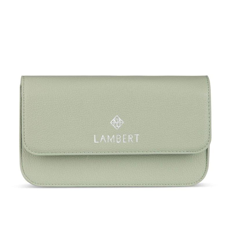 Lambert Sac Lambert 4 en 1 en cuir vegan Gabrielle Eucalyptus