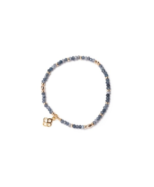 Bracelet Beblue BE SUBTLE SURYA gris BBSURSUB-G