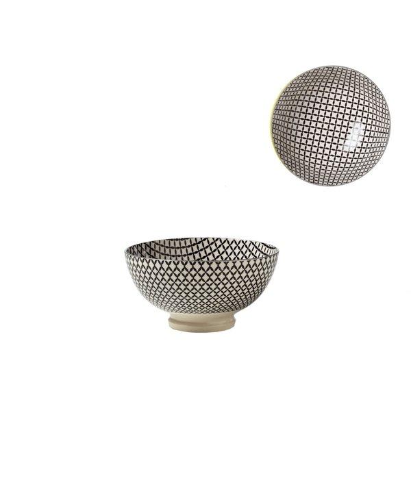 Bol de Porcelaine Kiri 4.5 Wicker Weave