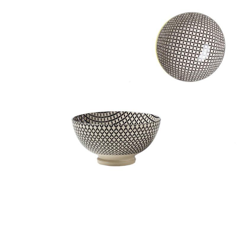 Torre & Tagus Bol de Porcelaine Kiri 4.5 Wicker Weave