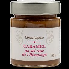 Connivence Caramel au sel rose de l'Himalaya de Connivence