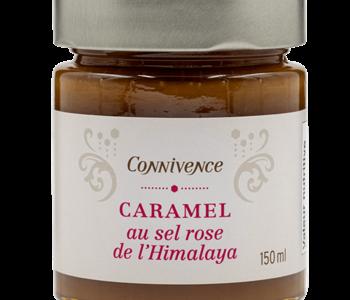 Caramel au sel rose de l'Himalaya de Connivence