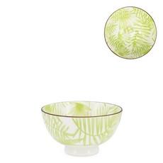 Torre & Tagus Bol en porcelaine Kiri 4.5 Palm Leaf