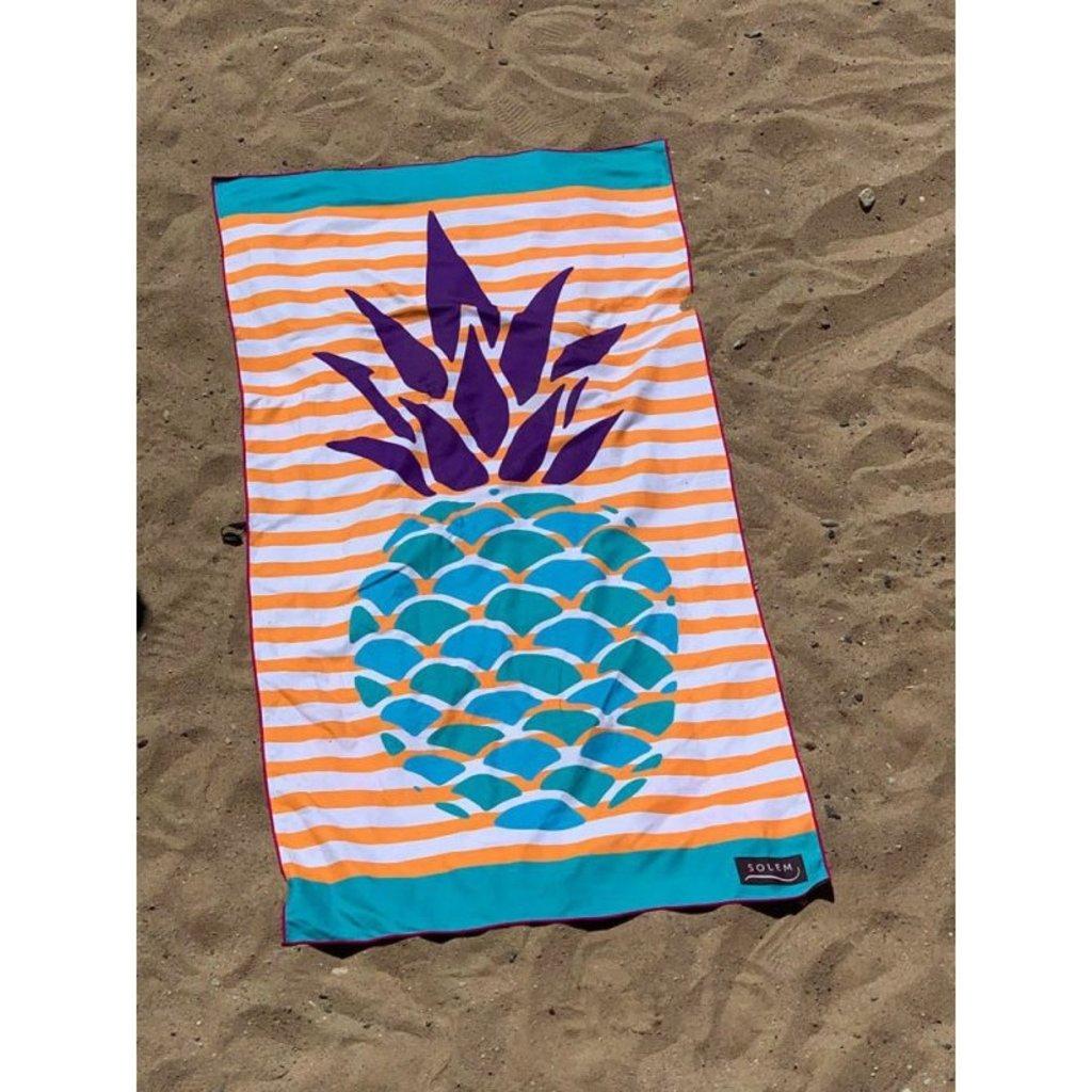 Solem Serviette de plage Solem Ananas en folie