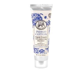 Crème pour les mains Indigo Cotton Michel Design Works