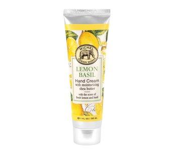 Crème pour les mains Lemon Basil Michel Design Works
