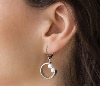 Boucles d'oreilles Anne-Marie Chagnon Barry perle