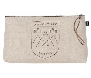 Grand sac à cosmétique Adventure awaits