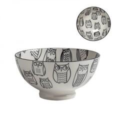 Torre & Tagus Bol de porcelaine kiri owl outline 6''