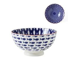 Torre & Tagus Bol de porcelaine Kiri 6'' Fish