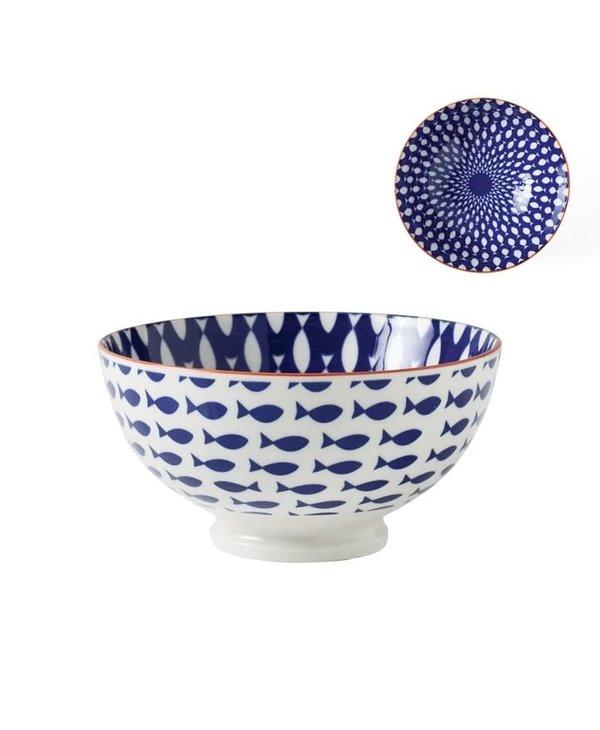 Bol de porcelaine Kiri 6'' Fish