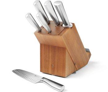 Ensemble de bloc à couteaux de 7 mcx de Ricardo