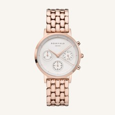 Rosefield Montre Rosefield The Gabby White Rose gold