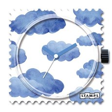 Montre Stamps Montre Stamps BLUE CLOUDS